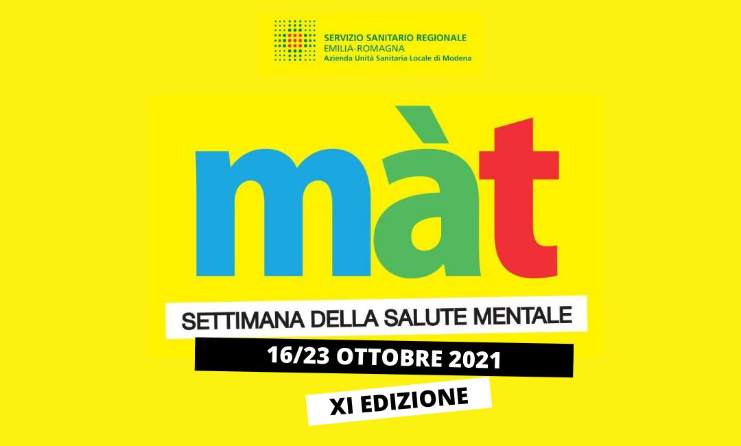 Sette giorni da Màt: a Modena la Settimana della salute mentale – Tecnomedicina –